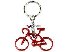 Porte-clé décapsuleur vélo (Rouge)
