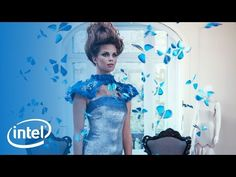 The Butterfly Dress | Experience Amazing | Intel - YouTube