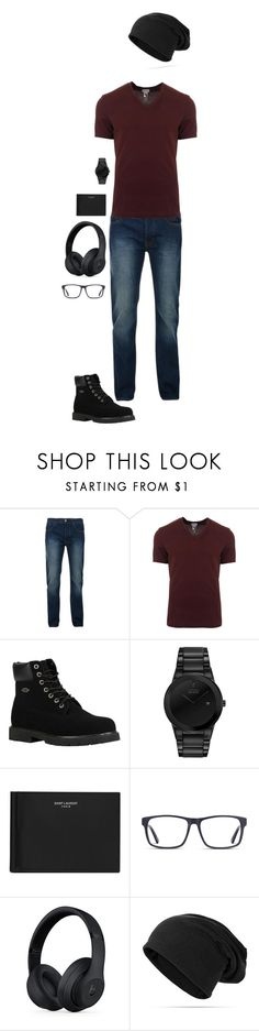 """""""delphus jeans"""" by dance4ever1222 ❤ liked on Polyvore featuring Bellfield, Dolce&Gabbana, Lugz, Citizen, Yves Saint Laurent, Beats by Dr. Dre, men's fashion and menswear"""