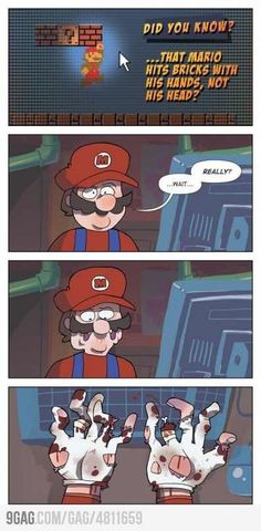 Funny Mario cartoon