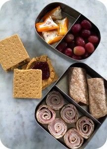 Easy lunch box ideas for kids and adults.