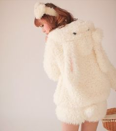 Kawaii Clothing | Abrigo Conejo / Bunny Rabbit Coat WH112 | Online Store Powered…