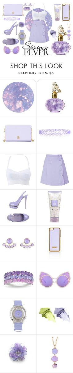 """Make it lilac"" by smoll-lili ❤ liked on Polyvore featuring SpaRitual, Anna Sui, Tory Burch, Monsoon, Charlotte Russe, Carven, Le Silla, Henri Bendel, Topshop and Ice"