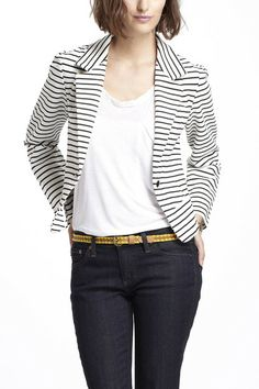 Striped Spinnaker Blazer ($50-100) - Svpply