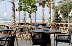 """PEZ VELA Paseo del Mare Nostrum 19/21 (bajos del Hotel W, """"HotelVela"""") 08039 Barcelona Telf. 932216317"""