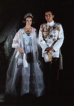 King Constantine and Queen Anne-Marie of Greece.