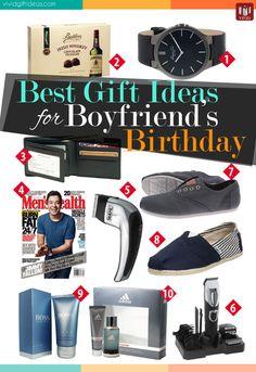 Best Gift Ideas For Boyfriends Birthday