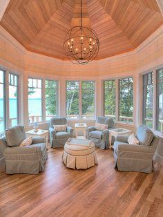 sunroom lighting ideas. Octagon Room Ideas, Pictures, Remodel And Decor Sunroom Lighting Ideas G