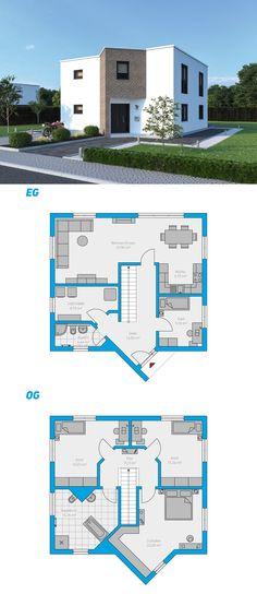 Alea 153 - schlüsselfertiges Massivhaus 2-geschossig #spektralhaus #ingutenwänden #2geschossig #Grundriss #Hausbau #Massivhaus #Steinmassivhaus #Steinhaus #schlüsselfertig  #neubau #eigenheim #traumhaus #ausbauhaus