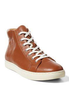 Dree Nappa Leather Sneaker - Polo Ralph Lauren All Shoes - RalphLauren.com