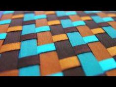 Libreta de Listones Diagonal Colores Tipicos Mexico (No es Tutorial) - YouTube