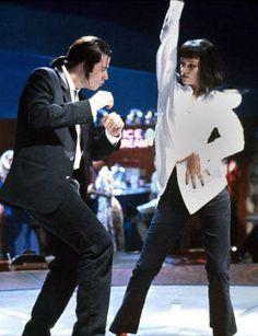 "John Travolta, Uma Thurman in ""Pulp Fiction"" (1994). DIRECTOR: Quentin Tarantino."