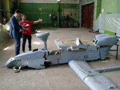 Exclusive Access to the Russian Forpost Drone Shot Down in Ukraine  (video)