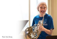 15-year-old Hanna, who has Ewing sarcoma, wished to perform with the Chicago Symphony Orchestra.