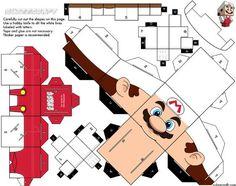 It's me… MARIO ! Une version 'classique' et une version 'fire' qui nous sont proposés sur le fameux site Cubeecraft. Deux papertoys qui devraient séduire les gamers (ou les nostalgiques), d'autant qu'ils sont très faciles à assembler… Mario est un…