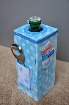 Geld geven saai? Zo niet, maak een bierdrinker blij met deze cadeauverpakking.