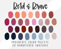 Sunset Color Palette, Sunset Colors, Ipad App, Disney Colors, Tropical Colors, Tropical Art, Complimentary Colors, Color Swatches, Autumn Theme