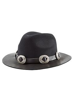 The brim of this black felted hat is made from soft leather that will only  improve a87987e298d3