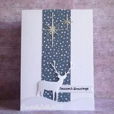 A Scrapjourney: Family of Deer Simple Christmas Cards, Homemade Christmas Cards, Christmas Deer, Handmade Christmas, Homemade Cards, Holiday Cards, Pinterest Christmas Cards, Christmas 2017, Stampin Up Weihnachten