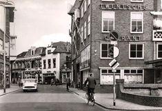 Almelo Grotestraat zuid Tubantia. Nu in gebruik door van Olffen Ijscotheek.