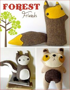 Woodland Forest Party Theme   Part 2 {Creatures amp; Crafty Details}