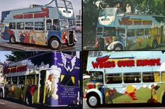 The 1972 Wings Tour Bus Wings Tour, Rock And Roll, Tours, Projects, Crafts, Log Projects, Blue Prints, Manualidades, Rock Roll
