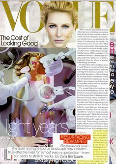 Dr. Tina Alster - The Cost of Looking Good - Laser Skin Resurfacing - Vogue magazine