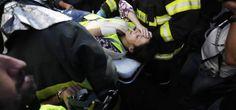 Mujer herida en protestas en Sao Paulo durante el partido inaugural entre Brasil y Croacia de la Copa Mundial de la FIFA Brasil 2014 | Ximinia