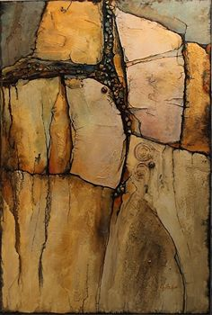 Mixed media geologic abstract, Wood Rock , Carol Nelson Fine Art, painting by artist Carol Nelson Abstract Landscape, Abstract Art, Tachisme, Abstract Photography, Oeuvre D'art, Painting Inspiration, Color Inspiration, Lovers Art, Fine Art America