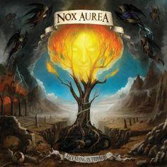Nox Aurea- Ascending in Triumph.  Solid death/doom metal.