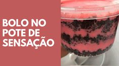 10 RECEITAS DE BOLOS NO POTE Chocolate Caramel Tart, Bridal Tiara, Mousse, Cake Recipes, Cheesecake, Cooking, Chocolates, Desserts, Delicious Recipes