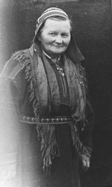 En eldre samekvinne (ukjent)