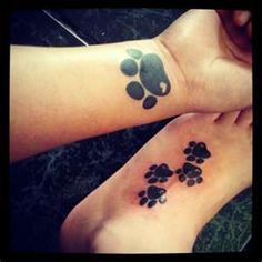 Panther pawsf Like the heart in the paw print