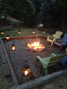 Plus, we have plenty of ideas on how to craft an outdoor fire pit that suits your style, whether you're looking for a swanky setup for dinner parties.