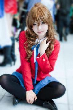 コスプレ Toradora! Cosplay. I was Taiga for the anime con in my city