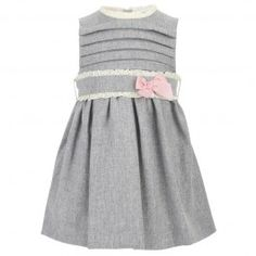 grey baby girl dress