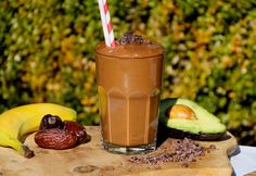 This super creamy dairy free smoothie will make breakfast feel like dessert. It's super chocolatey and full of nutritious ingredients.  https://aduna.com/blogs/recipes/17306212-moringa-chocolate-smoothie