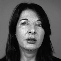 Marina Abramovic -Wow... this painting is just perfect. Puedes ver y sentir su dolor. Love it!