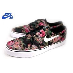 aad9e7200fed Nike SB Stefan Janoski Digi Floral Camo ❤ liked on Polyvore featuring shoes  Roshe Shoes