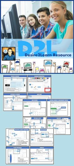 · Desire2Learn helps create inspired and engaging learning for all with their online course platform  · D2L's powerful and flexible learning management platform helps drive better learning outcomes by offering every learner a highly personalized, digital experience.  · This resource uses step-by-step instructions and screenshots to show teachers how to set-up and use Desire2Lear Teaching Technology, Step By Step Instructions, Teacher Pay Teachers, Online Courses, Flexibility, Management, College, Classroom, Platform