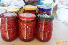 Salsa, Mason Jars, Food, Essen, Mason Jar, Salsa Music, Meals, Yemek, Eten