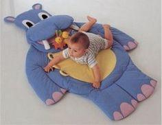 Espaço Infantil – Tapete infantil com molde passo a passo