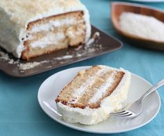 Low Carb Coconut Layer Cake Recipe | All Day I Dream About Food