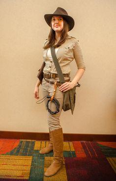 indiana jones female cosplay - Google Search