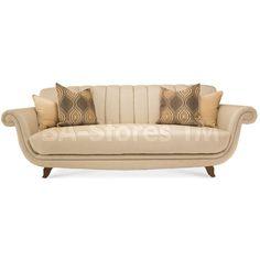 Cloche Channel Back Sofa by Aico