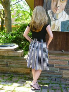 Zlata skirt by Stepalica Patterns - hacked by talented and creative Rhonda of Rhonda's Creative Life.