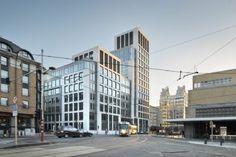 South City combineert kantoren met hotel / JASPERS-EYERS ARCHITECTEN