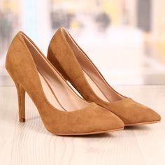 Poze Pantofi Stiletto Brooklyn Camel Cod: 777