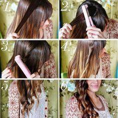 DIY - Beach Waves with Hair Straightener Tutorial diy diy crafts do it  yourself diy art diy tips dig ideas diy beach waves with hair straightener  tutorial 7bb211f552
