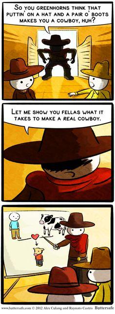 Cowboys. REAL cowboys...